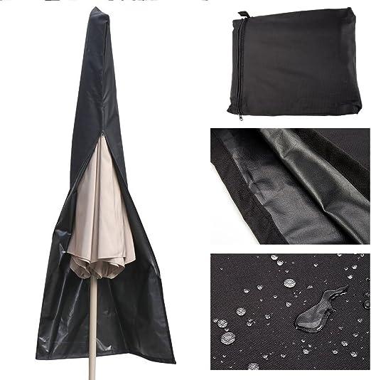 Extra Large Heavy Duty Waterproof Parasol Umbrella Cover Garden Furniture 190cm