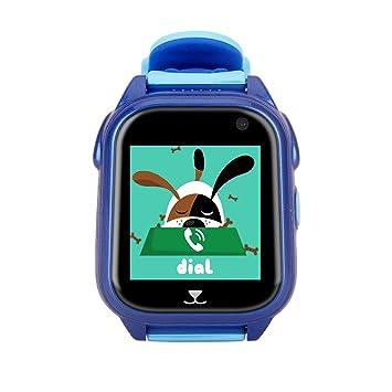 YIKESHU, Kid Smartwatch Teléfono GPS Track con Llamadas SIM IP67 ...