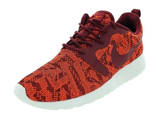 Nike Womens Roshe One KJCRD Total Orange Team Red