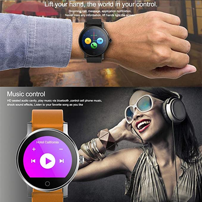Corwar SMA-09 - Smartwatch Impermeable IPS de 1,3 Pulgadas ...