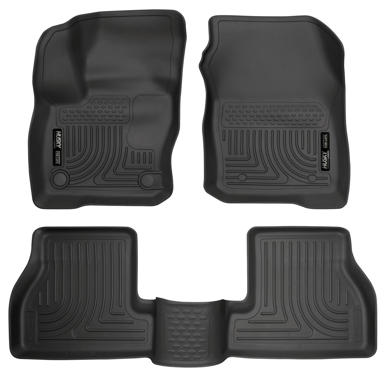Husky Liners Front & 2nd Seat Floor Liners Fits 16-18 Focus 99771