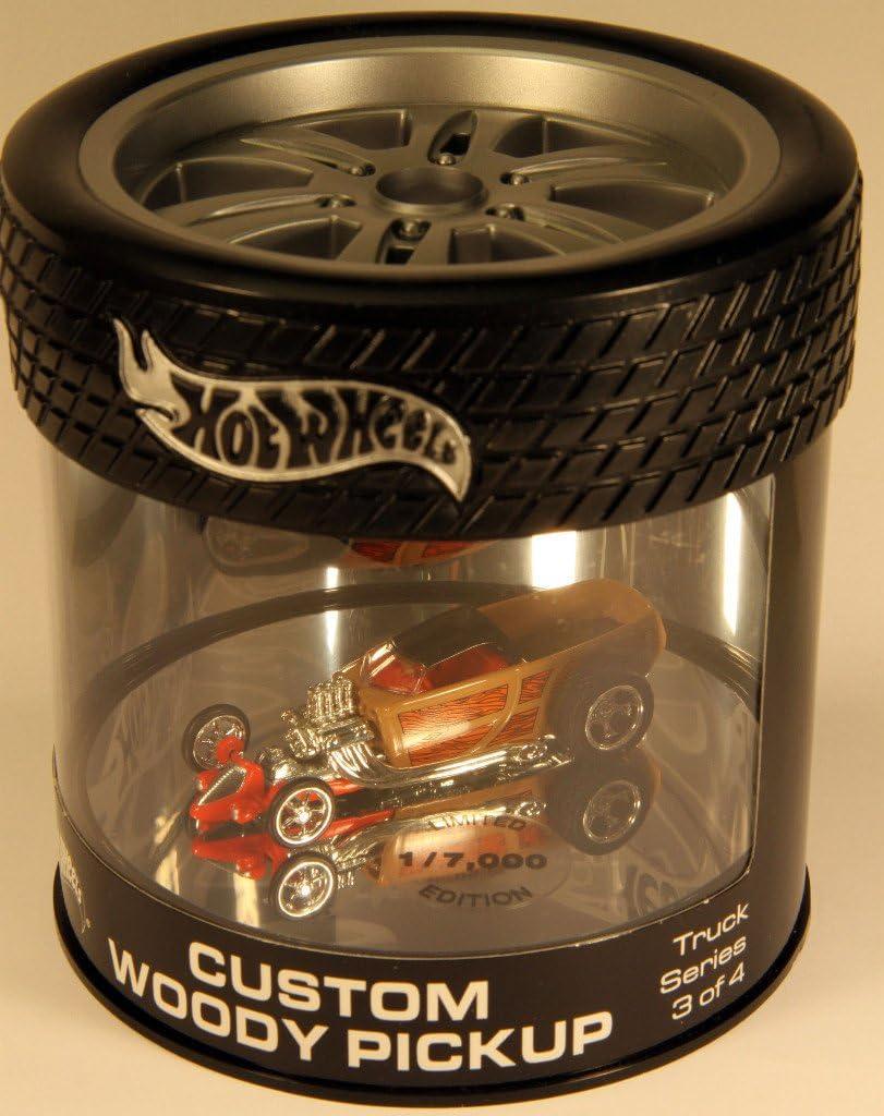 1 Hot Wheels Oil Can Truck Series Custom Woody Pickup
