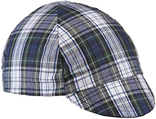 product image for Walz Caps Green/Blue Plaid 4-Panel Cycling Cap