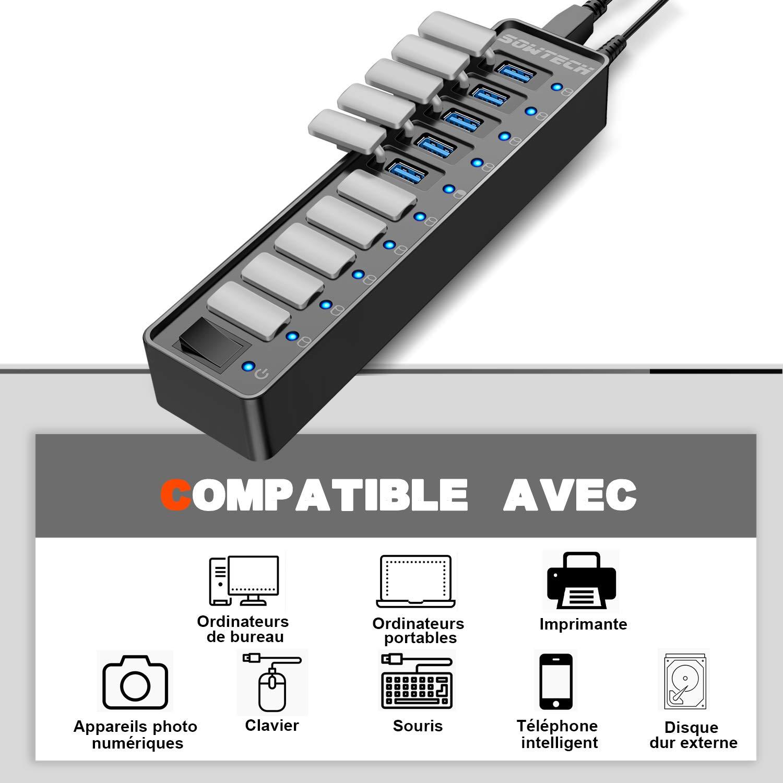 SOWTECH HUB USB 3.0 (10 Ports HUB USB 3.0)