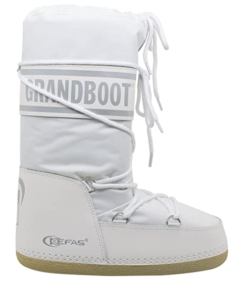 taglia 40 1f910 efa6a Kefas - Grandboot - Doposci Boot Uomo Donna Bambino - Bianco - Taglia 38/40