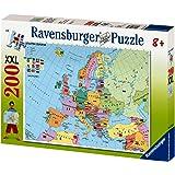 Ravensburger 12662 - Puzzle del mapa de Europa (200 piezas)[Version Alemana]