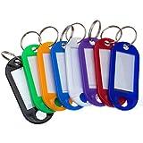 5/10/30/50/100/200/500/1000 Schlüsselschilder Schlüsselanhänger Farbe nach Wahl Top Qualität (bunt vermischt, 200 St.)