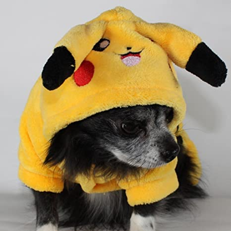 Pikachu - Disfraz de perro Pokemon: Amazon.es: Productos para mascotas