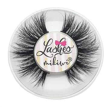 c60ca09e15a Amazon.com : Mikiwi D389, Mink Eyelashes, 3D Mink Lashes, Volume soft lashes,  Dramatic long fake eyelashes, Cruelty Free, Luxury Makeup ... : Beauty