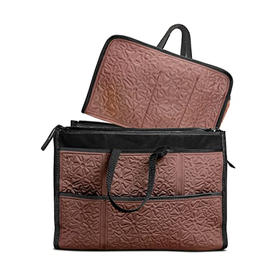 fb350f3c2882 Amazon.com  Metric USA Purse Organizer 25 Compartments Premium Handbag  organizer Insert 2 in 1 Washable Liner Bag in Bag Shaper  Shoes