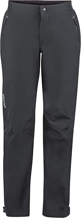 An image of a women's minimalist pant with snap closure and side pockets.