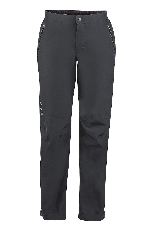 Transpirables Pantalones de Lluvia Prueba de Viento Marmot Wms PreCip Eco Full Zip Pant Long Pantalones Impermeables Mujer