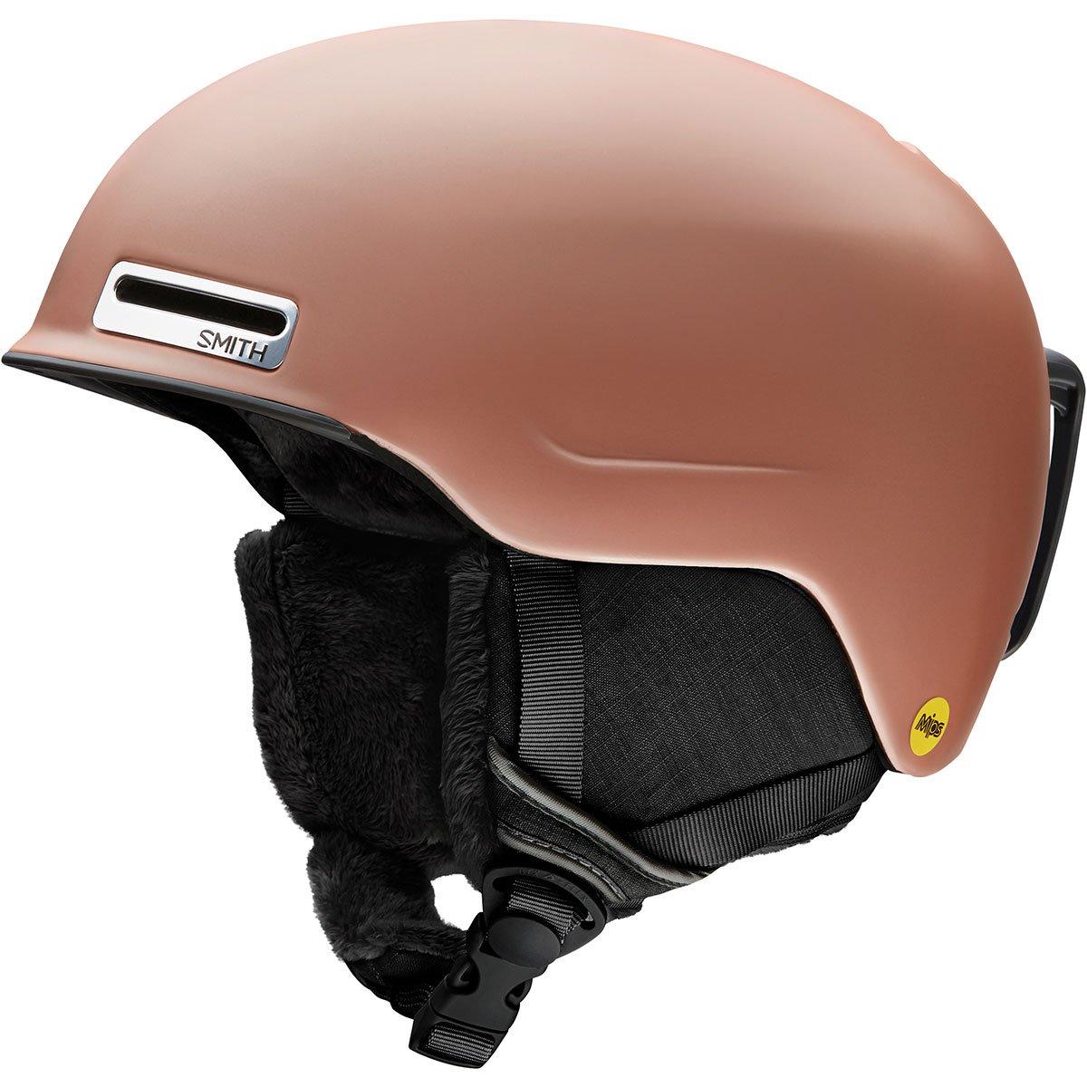 Smith Optics Allure Women's Ski Snowmobile Helmet - Matte Champagne/Medium