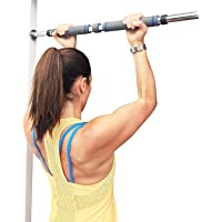 RYLAN Pull up Bar, Chin up Bar Door Way Door Mounts for Home, Gym, Fitness, Exercise for Men and Women, Pull Bar for Home, Pull Up Bars for Home Wall, Chin Up Bar for Home, Gym Bar Rod