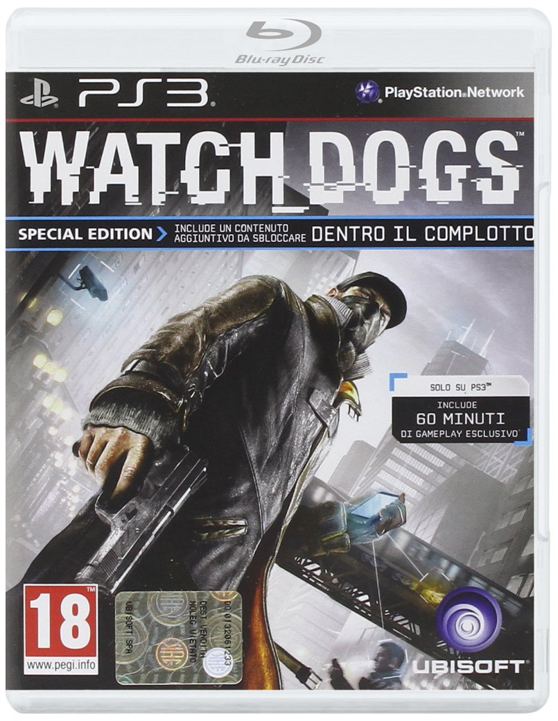 WATCH DOGS SPECIAL EDITION PS3: Amazon co uk: PC & Video Games