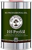 OLI-Natura High-Solid Profi-Öl, Parkett-Öl für stark strapazierte Holzflächen, 1 Liter farblos, matt
