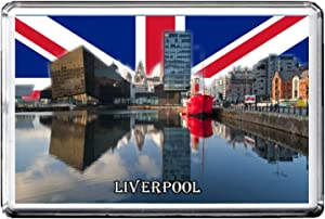 GIFTSCITY LIVERPOOL FRIDGE MAGNET THE CITY OF UNITED KINGDOM REFRIGERATOR MAGNET