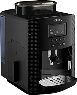 Krups Roma EA81M8 - Cafetera expreso superautomática, 1.7 L, 3 niveles de temperatura,