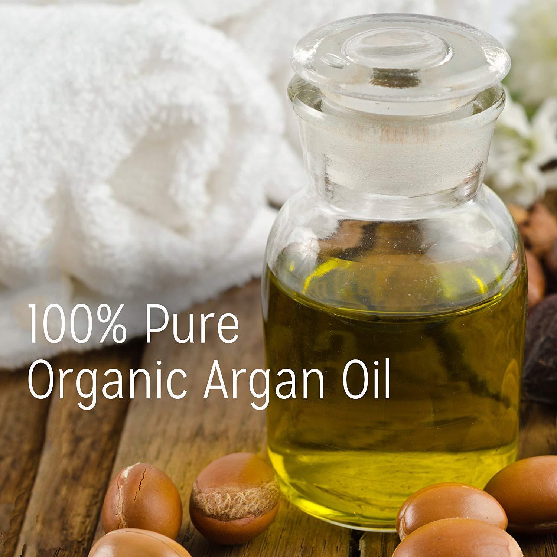 Calily Life Organic Moroccan Argan Oil Shampoo (33.8 Fl.Oz) + Conditioner with Dead Sea Minerals (30.6 fl.oz)