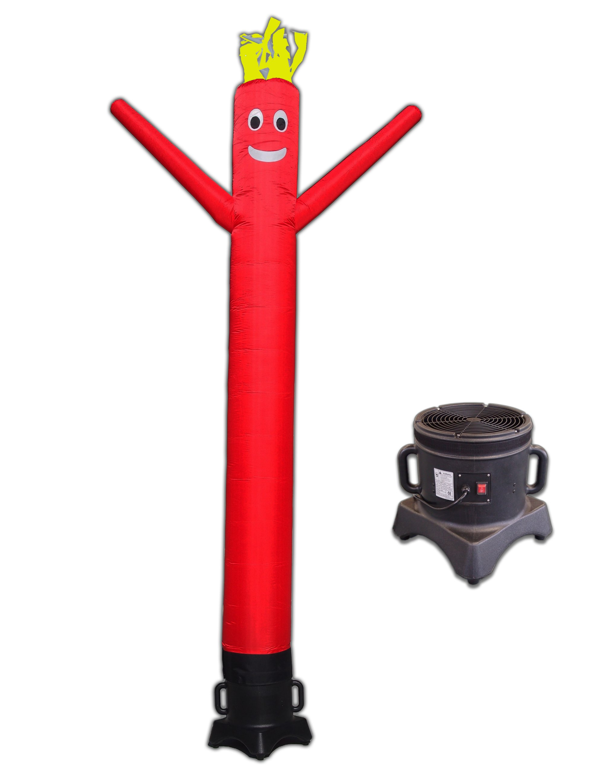 LookOurWay 10ft Air Dancers Inflatable Tube Man Complete Set with 1/2 HP Sky Dancer Blower, 10-Feet, Red by LookOurWay