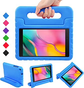LEADSTAR Funda para Samsung Galaxy Tab A 8.0 2019, Ligero y Super Protective Antichoque EVA Estuche Protector Diseñar Especialmente Manija Caso con Soporte para los Niños, SM-T290 / T295 (Azul): Amazon.es: Electrónica