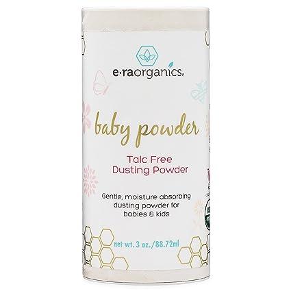 Talco para Bebés – Talco Orgánico Certificado por USDA de Honeybuns, Libre de Maltratos,