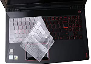 Leze - Ultra Thin Soft-Touch Keyboard Skin Cover Protector for Lenovo Legion Y730 Y740 Y7000 Gaming Laptop - TPU