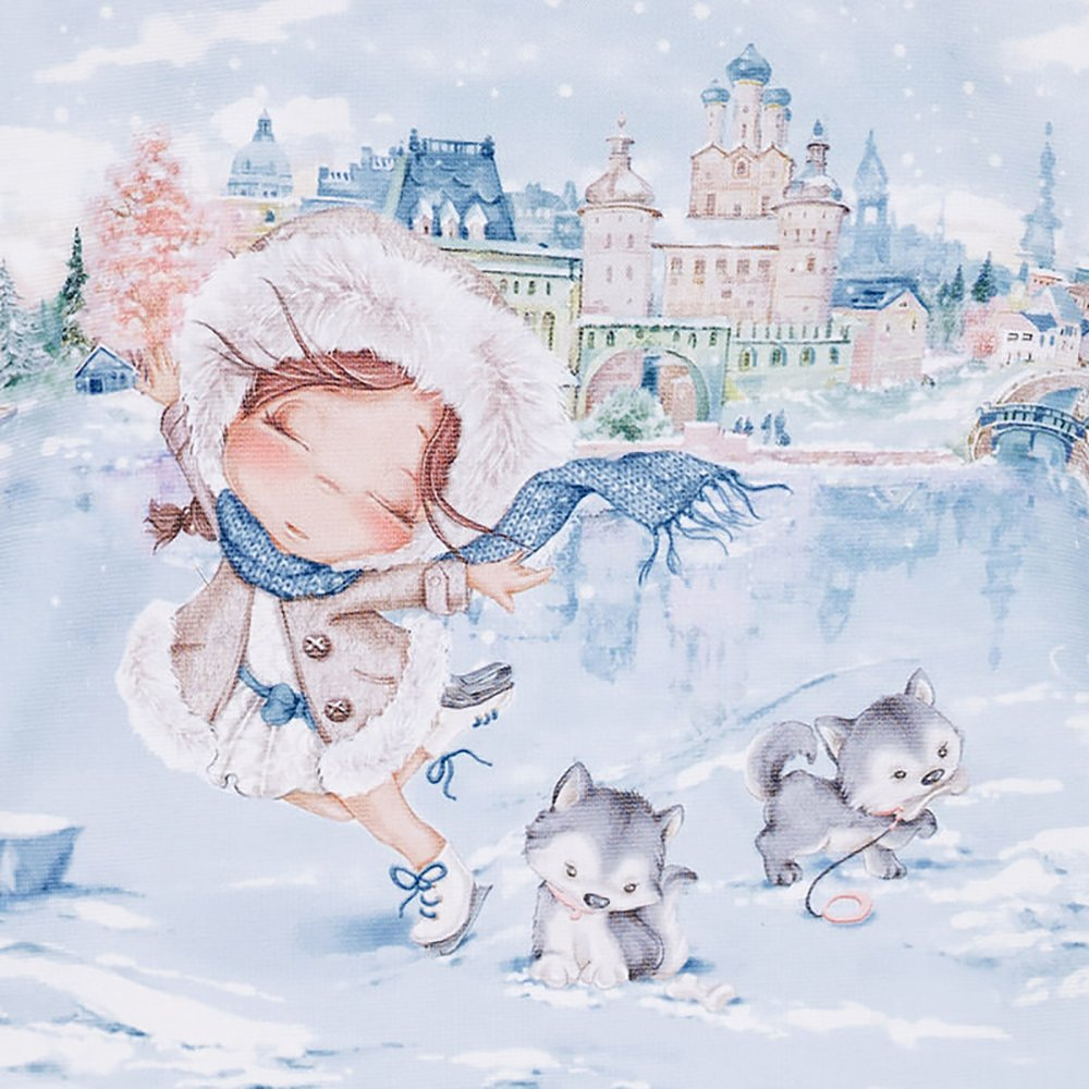 Mayoral Baby Girl Ice Skating in the City Dress