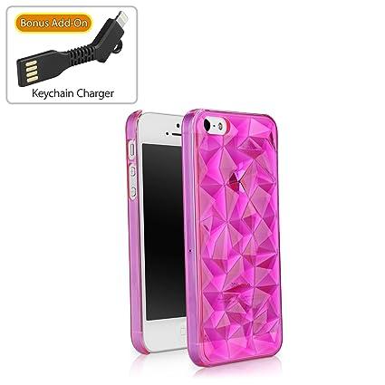 premium selection 1fd40 a4221 Amazon.com: iPhone SE Case, BoxWave [RazMaDaz Case with BONUS ...