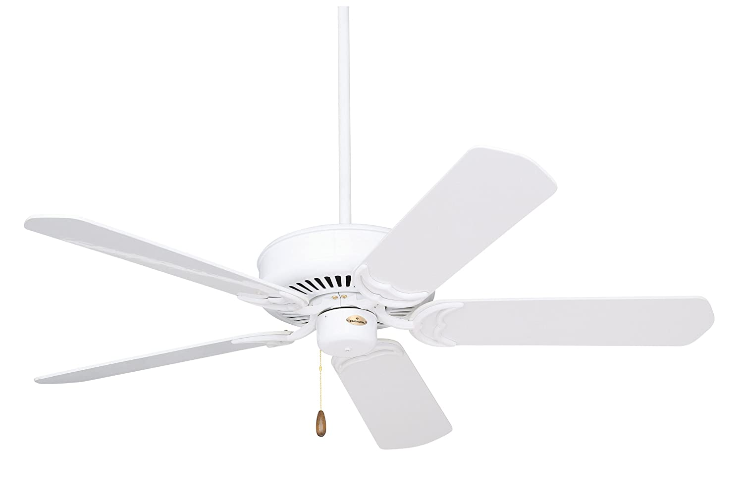 Emerson ceiling fans cf755ww designer 52 inch energy star ceiling emerson ceiling fans cf755ww designer 52 inch energy star ceiling fan light kit adaptable appliance white finish amazon aloadofball Choice Image