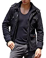 American Stitch Mens Cotton Military Jacket at Amazon Men