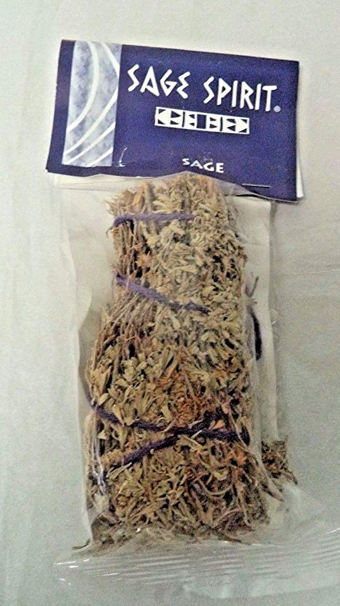 SAGE WHITE SMUDGE AND CEDAR LARGE STICK SPIRIT REMOVAL HOUSE CLEANSING 8 INCHES