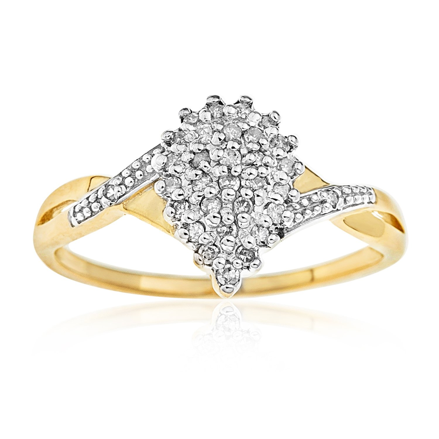 marie diamond catbird ring cluster rings wedding