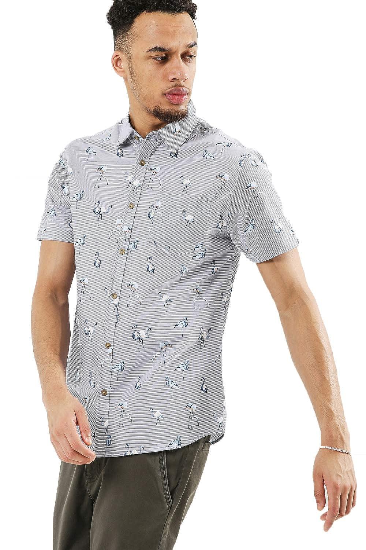 Threadbare Mens Tropical Print Shirts