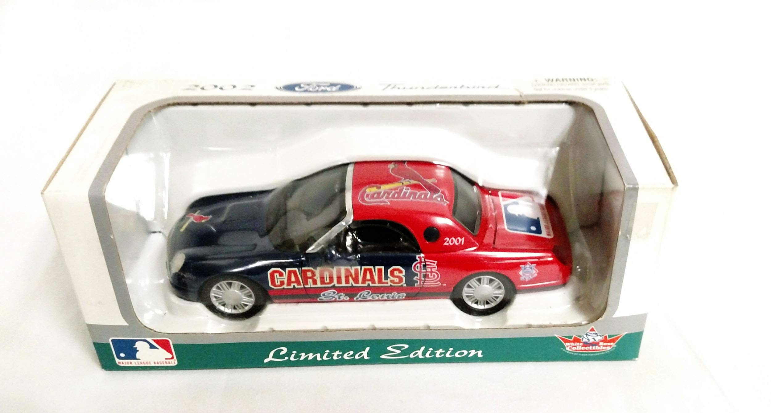 St. Louis Cardinals 2002 Ford Thunderbird Limited Edition Die Cast Collectible