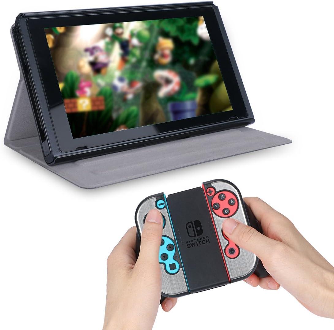 ohCome funda de protección para Nintendo Switch - Premium PU cuero ...