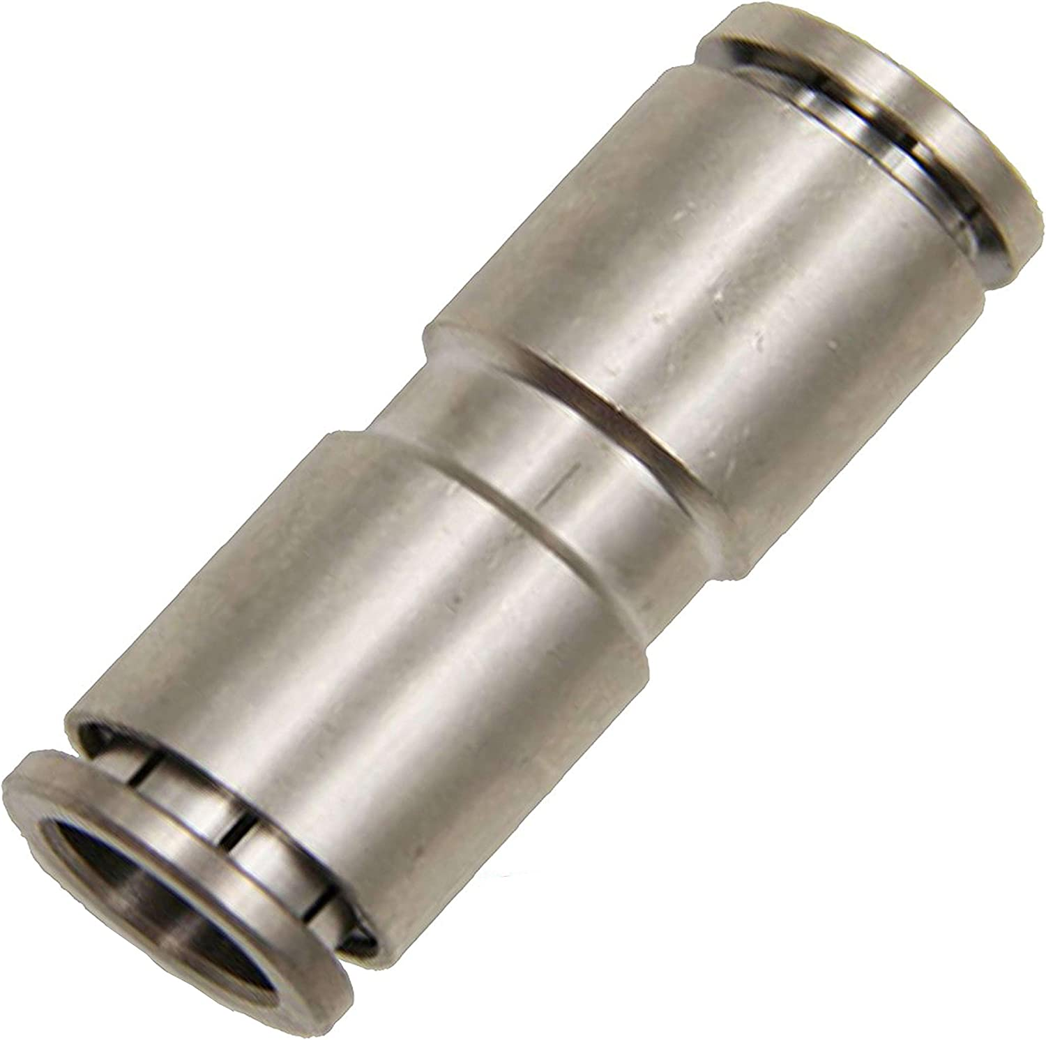 Push to Connect Fittings Tube Connect 1//4 inch Straight Tube Fittings Push Lock 10 Packs