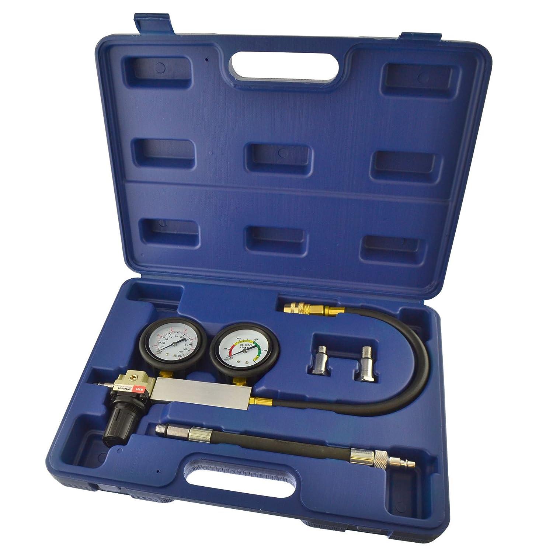 Cylinder leak detector / tester compression leakage kit set petrol engines AT270 AB Tools