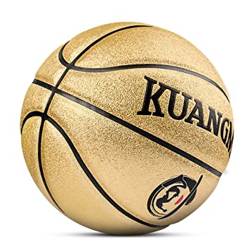 Kuangmi patrón Baloncesto tamaño de la Bola 5 para niños niños de ...