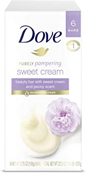 6-Bar Dove Purely Pampering Beauty Bar Soap 3.75 oz