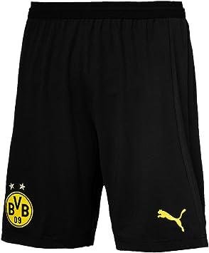 PUMA Herren BVB Replica mit Innerslip Hose: : Sport