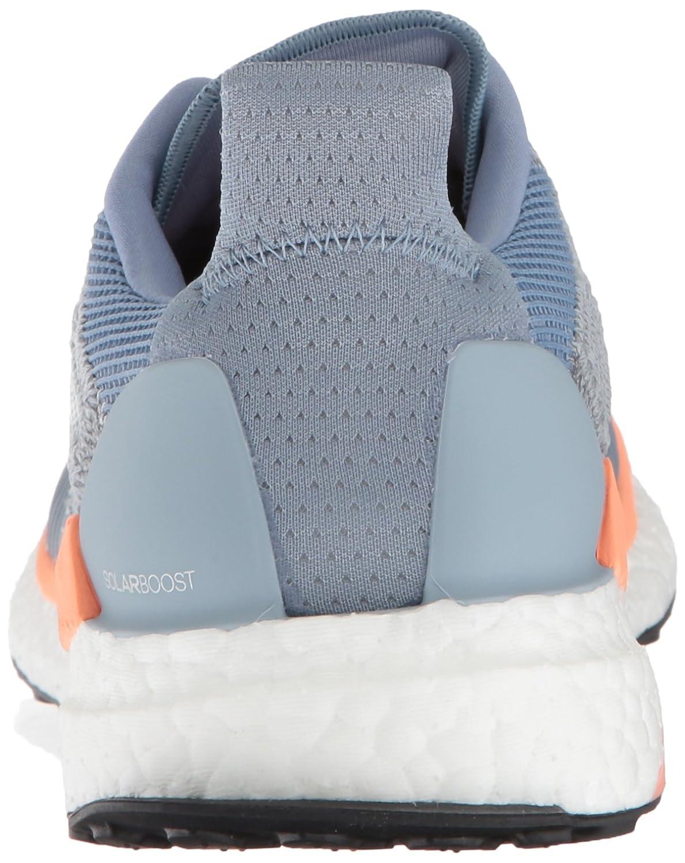 adidas Women's Solar Boost Running Shoe B0778W8Y86 11.5 B(M) US|Raw Grey/White/Chalk Coral