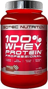 Scitec Nutrition 100% Whey Protein Professional con aminoácidos clave y enzimas digestivas adicionales, 920 g, Chocolate