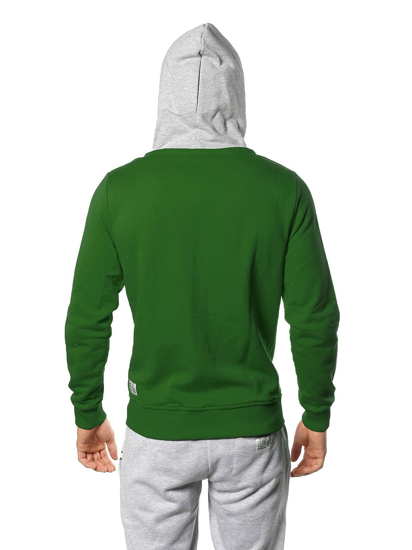 Sweat-Shirt /à Capuche et Fermeture /éclair pour Homme LEONE 1947 APPAREL Never Out Stock lsm565
