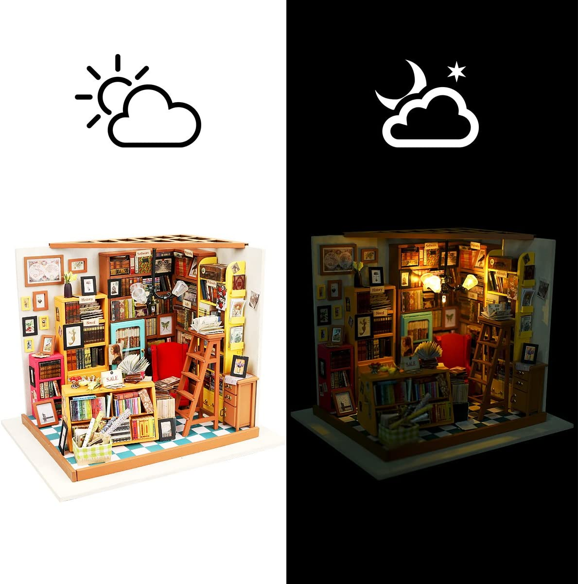 6 toiles de fond variateur DaMohony Mini bo/îte /à lumi/ère pliable pour studio photo avec double bande LED