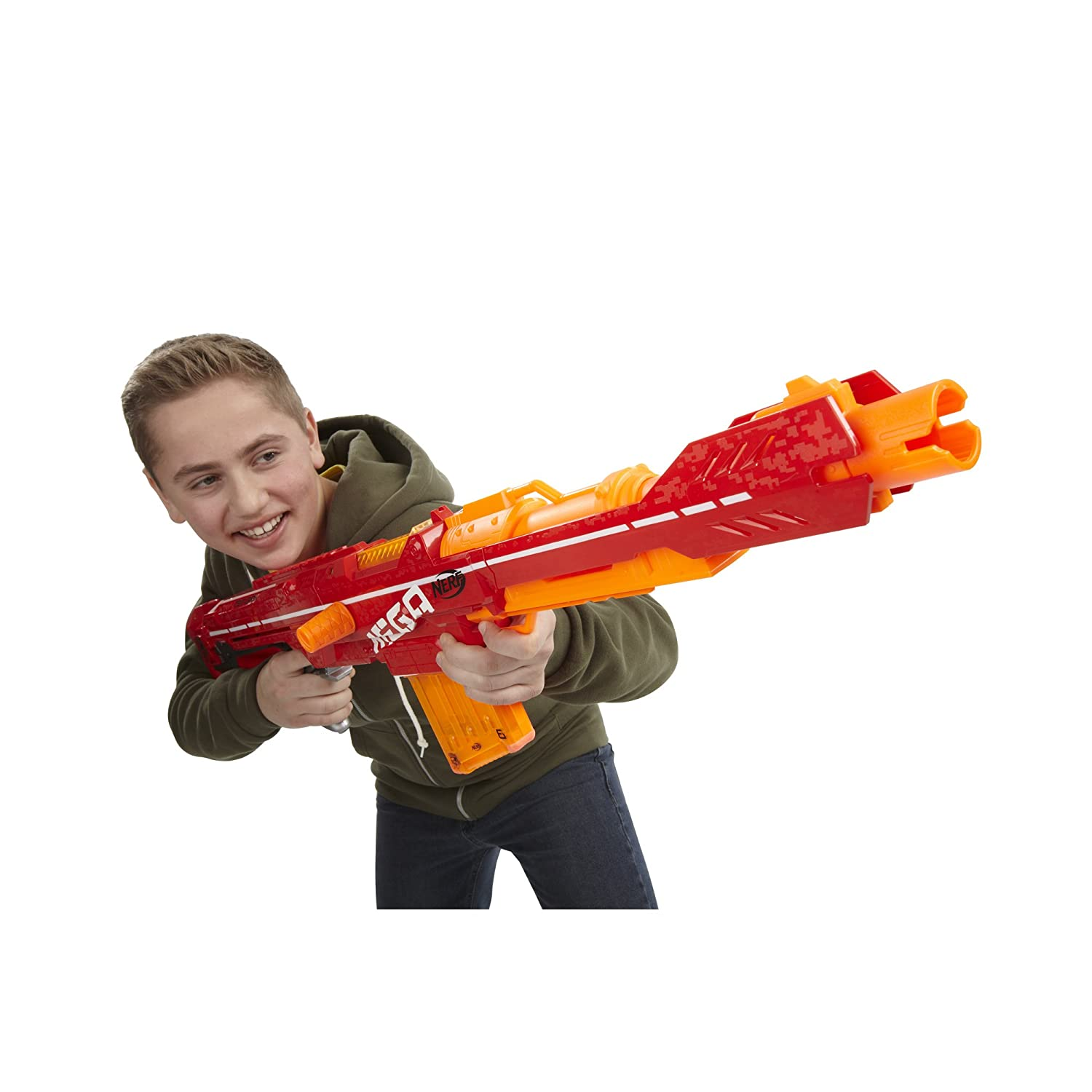 Buy Nerf N-Strike Elite Mega Centurion, Multi Color Online at Low Prices in  India - Amazon.in
