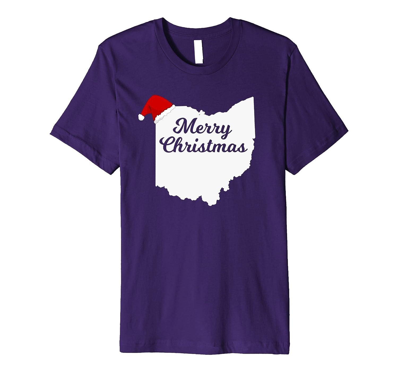 UGLY CHRISTMAS SWEATER TSHIRT OHIO Family Matching Shirt Fun-ANZ ...