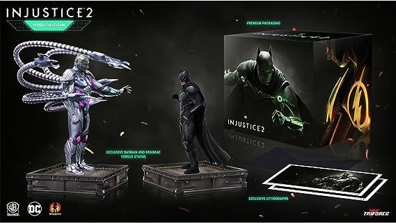 Triforce Injustice 2 The Versus Collection PVC Statues 23-28 cm ...
