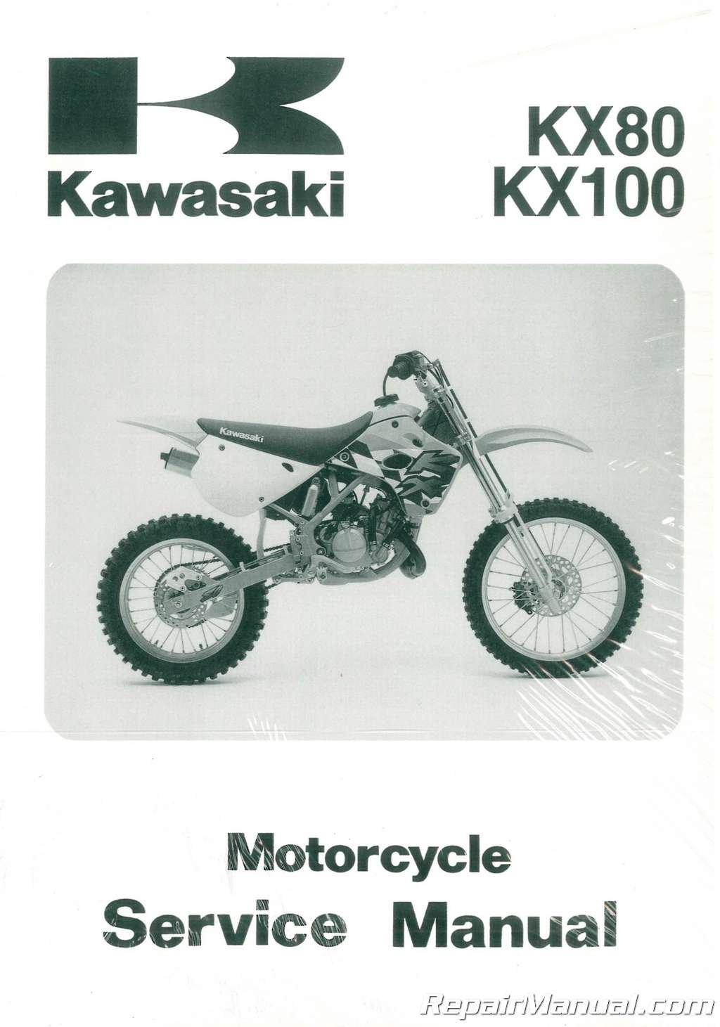 99924-1144-04 1991-1997 Kawasaki KX80 KX100 Service Manual: Manufacturer:  Amazon.com: Books