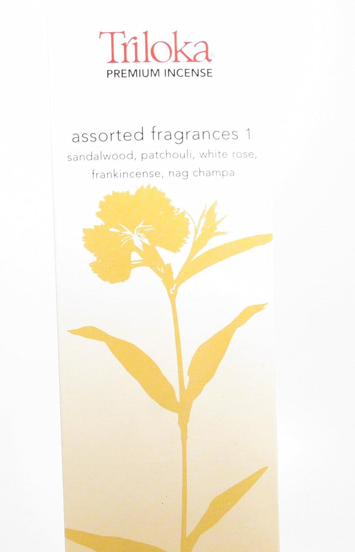 Triloka - 優れた香は芳香1を分類した - 10棒 B0016ARKJC